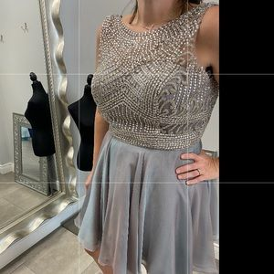 Sheri hill homecoming cocktail dress.